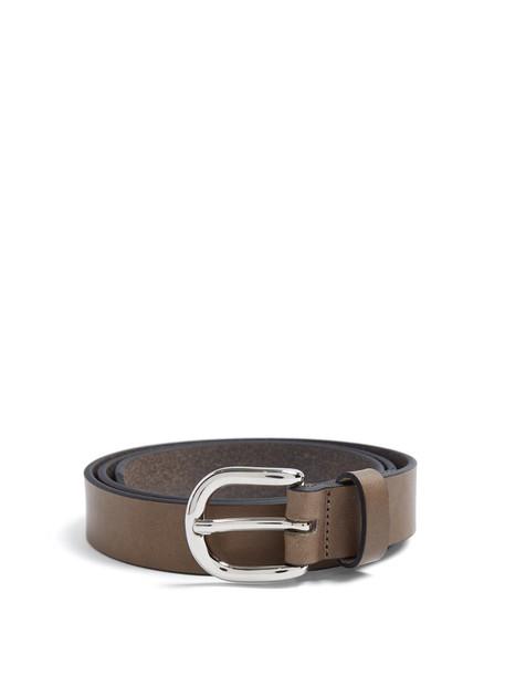 Isabel Marant belt leather bronze
