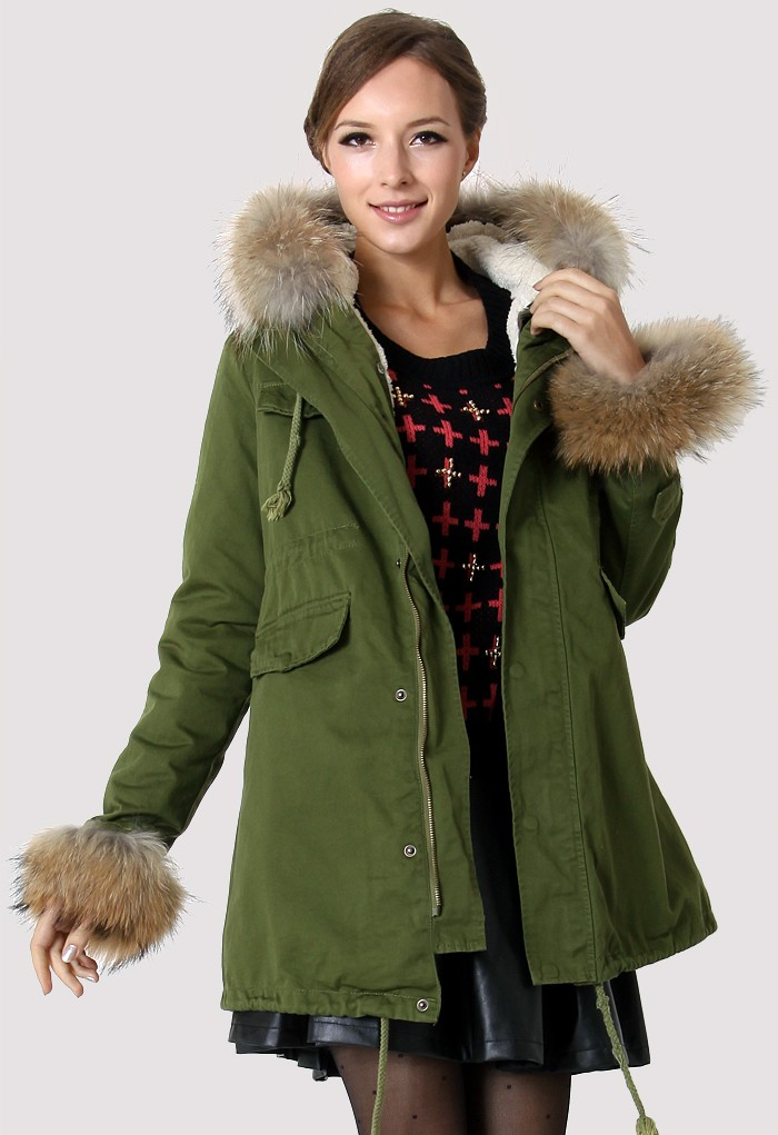 Hit The Road Detachable Faux Fur Jacket - Retro, Indie and Unique Fashion