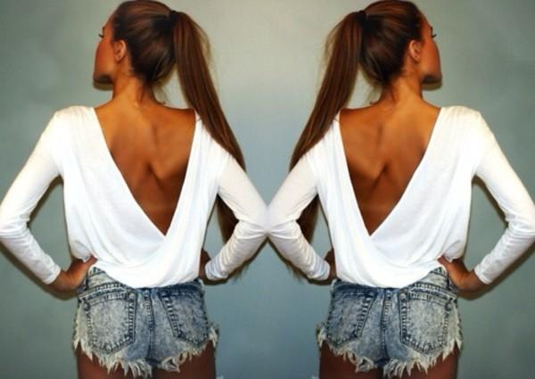 blouse white blouse shirt t-shirt