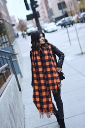 chictalk,blogger,scarf,jewels,sweater,hat,fall outfits,ankle boots,black leather jacket