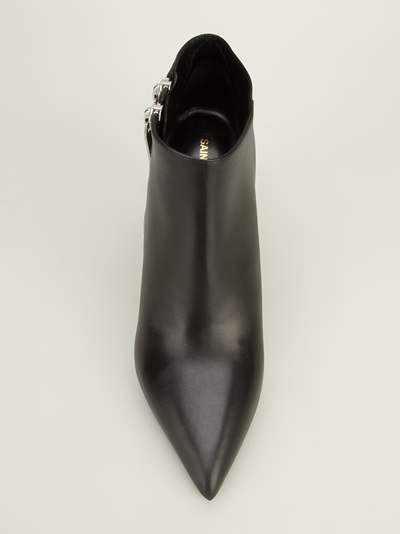 Saint Laurent 'classic Paris 80' Double Zip Ankle Boot - Mantovani - Farfetch.com