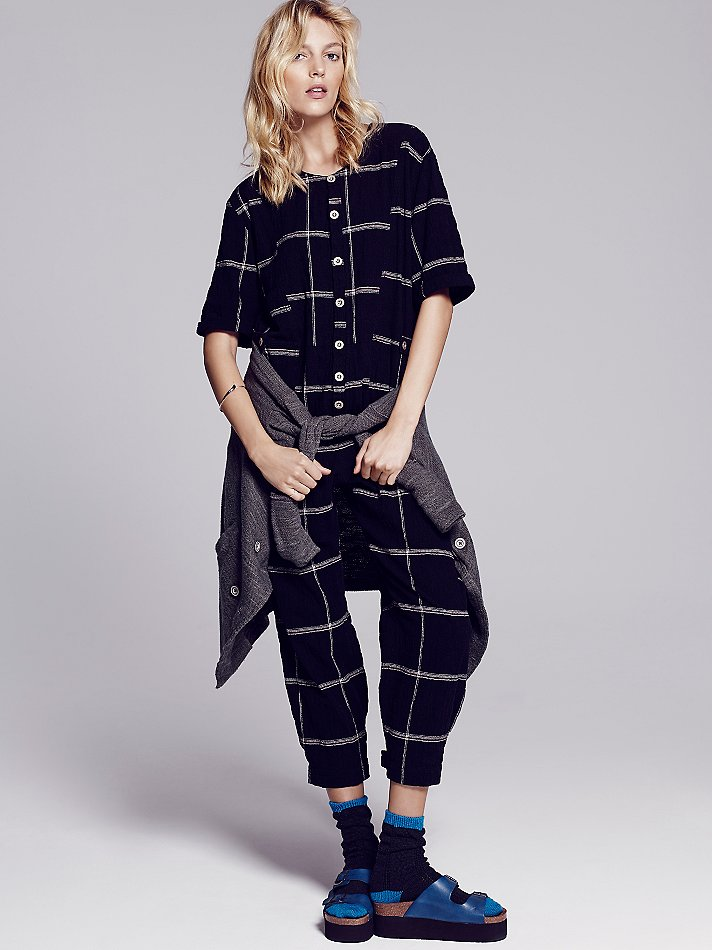 Free people keep it in check relaxed onepiece