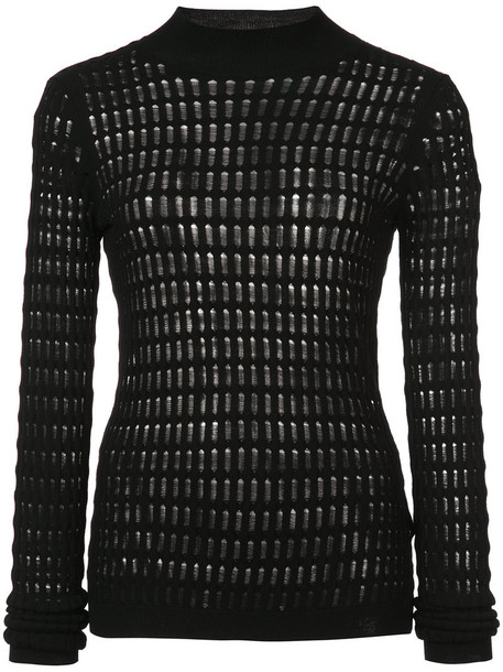 T by Alexander Wang top ribbed top long women black