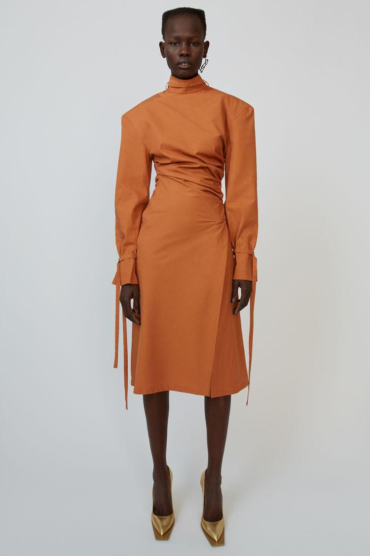 Midi dress Dusty orange