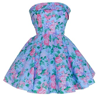 dress styleiconscloset vintage style 50s style blue florals