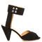 étoile meegan cone-heel suede sandals