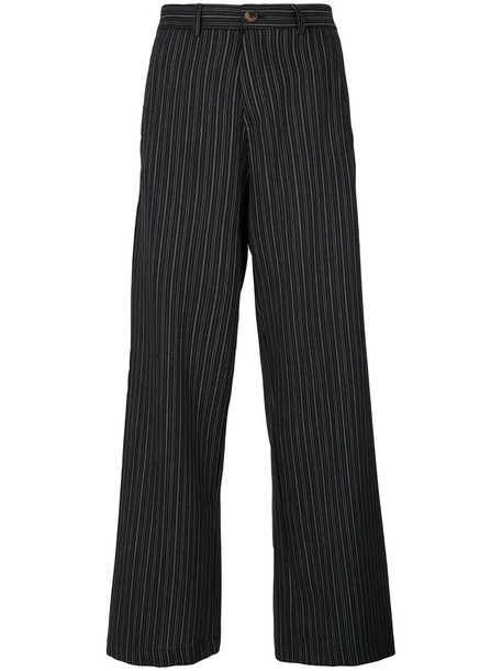 Société Anonyme women black wool pants