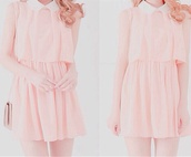 dress,pastel,pink,cute,kawaii,kawaii dress,pastel pink,pastel dress,cute dress