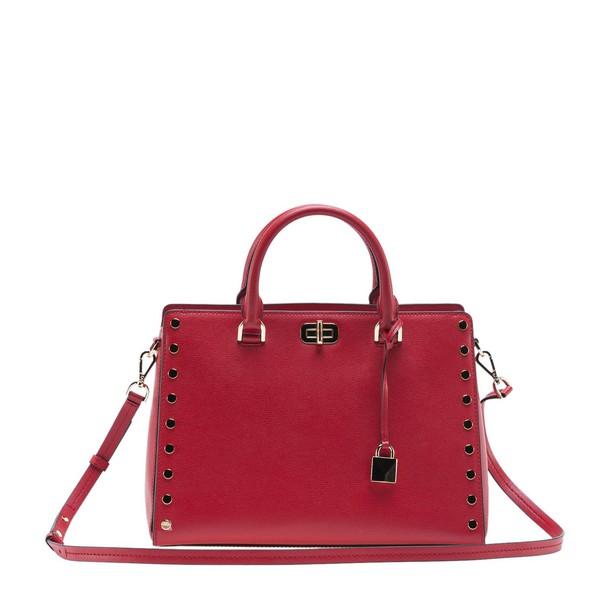 MICHAEL Michael Kors studded bag tote bag bright red