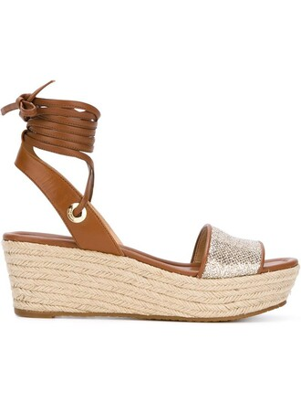 sandals flatform sandals brown shoes