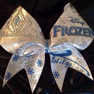 hair bow frozen elsa cute gems crown disney disney princess disney fashion snow snow flakes bows hair accessories