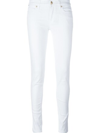 jeans skinny jeans women spandex white cotton