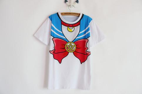 Sailor moon print tee [japanese harajuku]