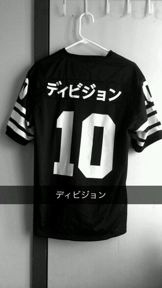 shirt t-shirt baggy shirt balck and white black white baggy jersey