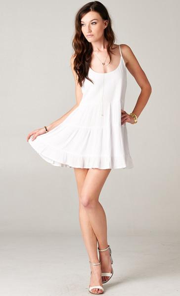 OPEN BACK BABYDOLL TIERED DRESS - PUBLIK - Women&-39-s Clothing ...