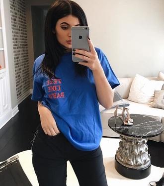 shirt top t-shirt kylie jenner instagram