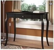 home accessory,black desk