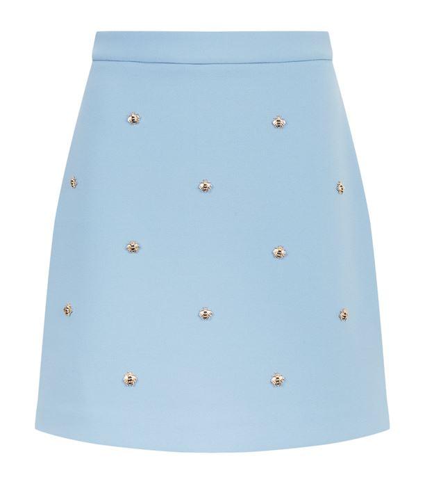 Maje Bee Embellished Skirt | Harrods.com