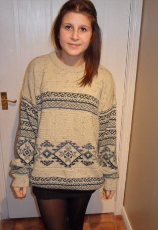 vintage urban renewal slouchy knitted jumper grung indie  | mysticclothing | ASOS Marketplace