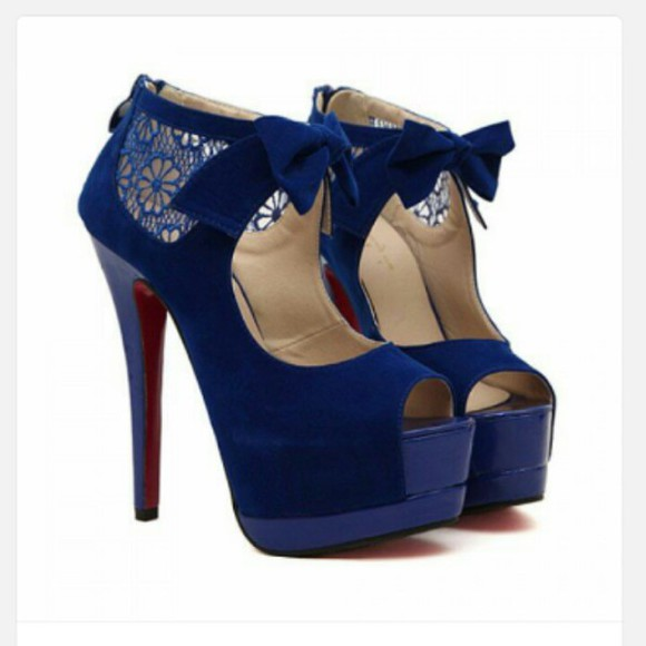 formal high heels stilletoes bow high heels bow heels lace heels peep toe heels