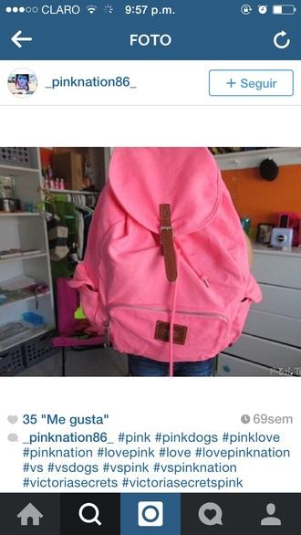 bag victoria secret backpack