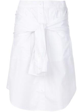 skirt style white