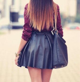 skirt black skirt grunge bad girl