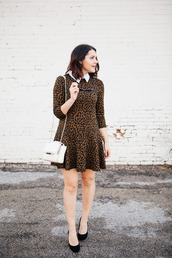 kendi everyday,blogger,sunglasses,leopard print,printed dress