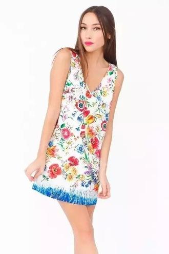 dress print dress summer dress sexy dress