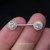 Zircon Nipple ring Nipple piercing Nipple jewelry Nipple barbell