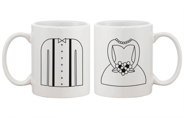 gloves mr and mrs coffee coffee matching couples wedding gifts bride and groom anniversary gift bridal
