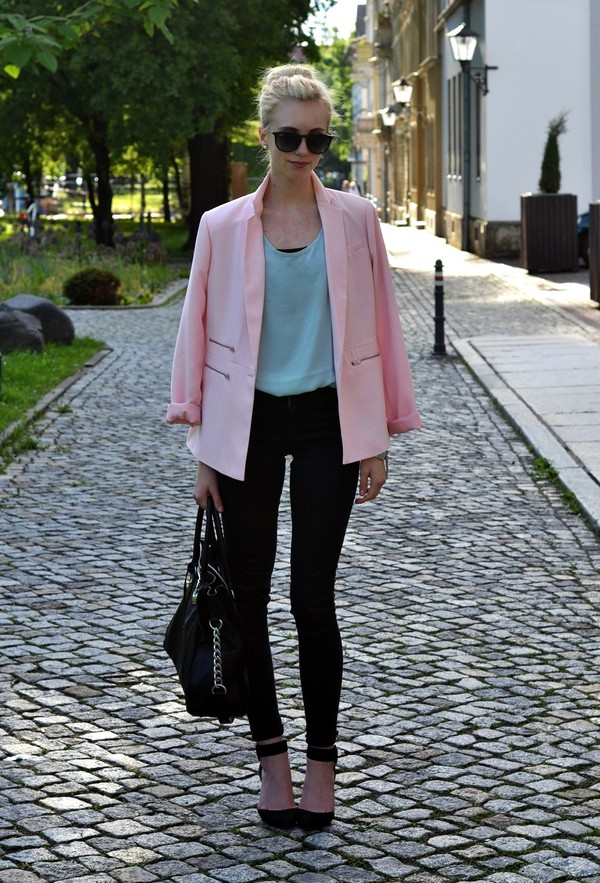 vogue haus t-shirt pants jacket shoes bag jewels sunglasses
