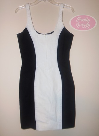 dress clubwear colorblock leather leather dress bodycon bodycon dress white dress summer summer outfits spring outfits club dress sexy sexy dress black dress black and white black and white dress