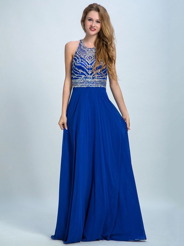 Diamond Print Prom Dress