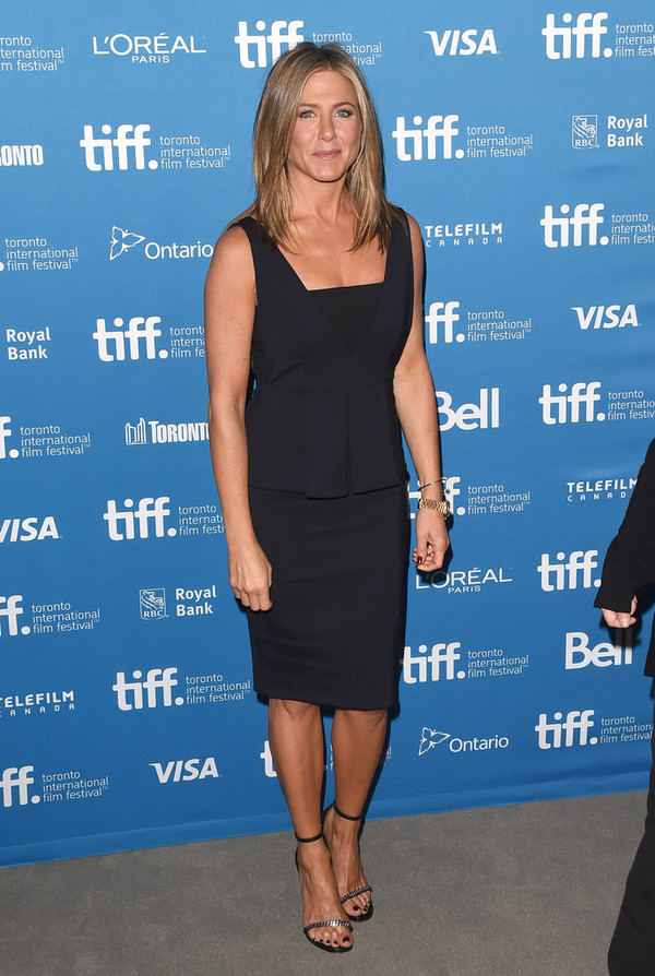 dress jennifer aniston shoes sandals high heels