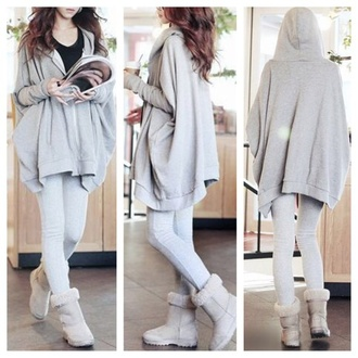 sweater clothes fashion jacket cute hoodie oversized sweater cardigan kawaii fall outfits girly coat