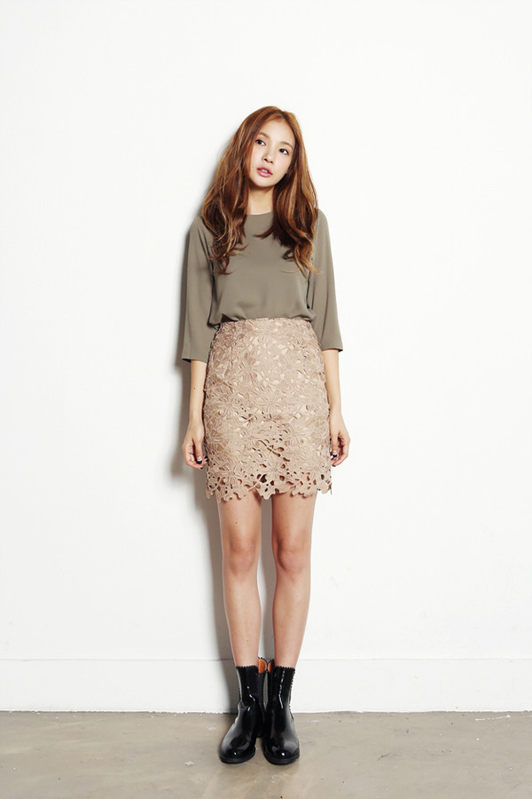 skirt laceskirt korean fashion