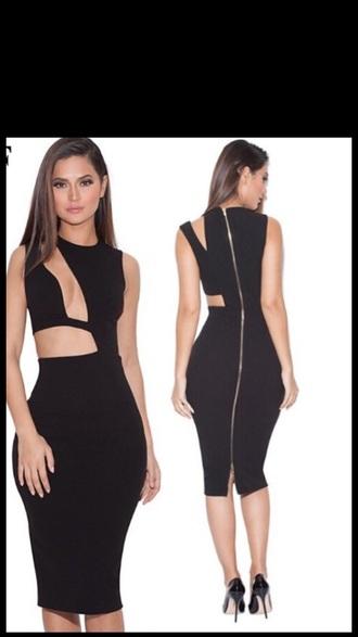 dress black dress black midi skirt midi midi dress cute dress cut-out homecoming dress clubwear club dress sexy dress sexy sexy skirt long dress