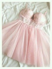 dress,underwear,bustier,pastel pink,pink,tutu dress,tutu,pink dress,light pink dress,corset,see through,see through lingerie,ballerina,lacy,kawaii dress,kawaii girl,kawii,princess