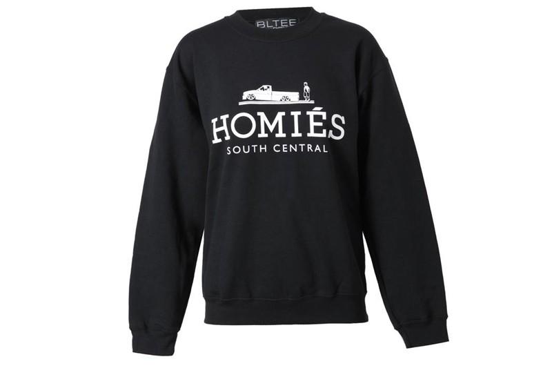 Modishly Rad                   - Homies sweatshirt.
