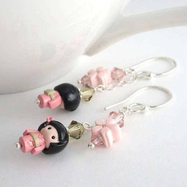 Jewels Earrings Cute Earring Kawaii Earring Kawaii