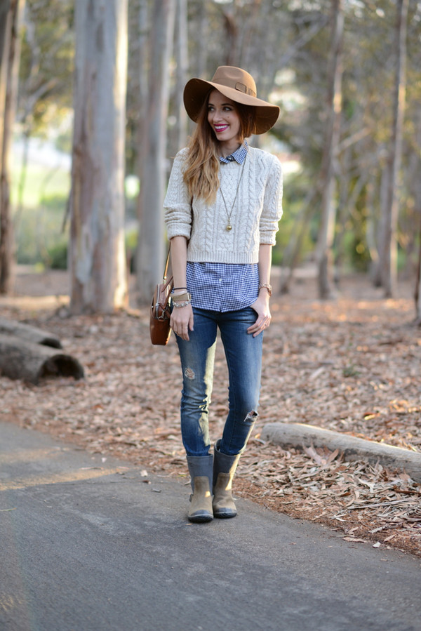 m loves m blogger top jeans shoes jewels bag