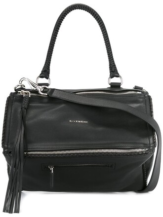 women bag tote bag leather black