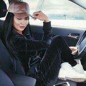 jacket,maniere de voir,velour,track,tracksuit,satin,amanda,cap,36683,velvet
