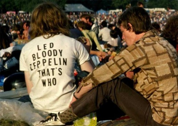 t-shirt printed led zeppelin