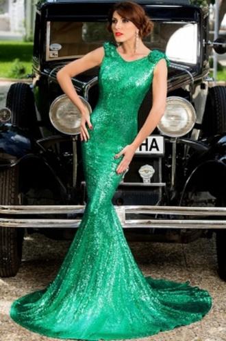 dress big bow dress party mermaid classy prom night wots-hot-right-now mermaid prom dress red dress green dress black dress sequin dress prom gown formal dress