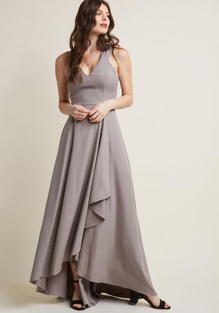 8657 skirt vintage straps style statement grey green