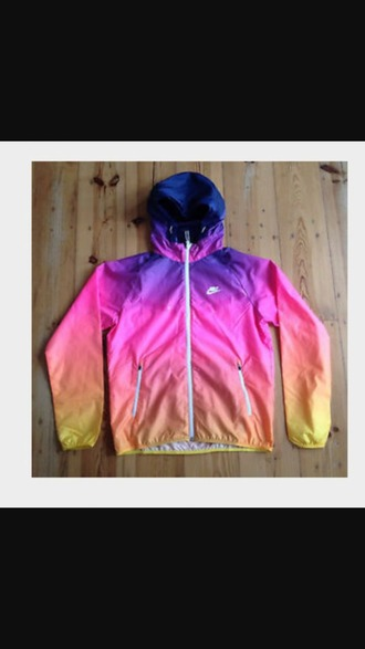 jacket nike windbreaker nike jacket multicolor
