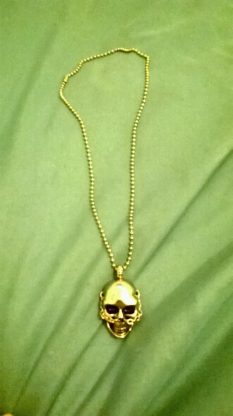jewels necklace skull skull necklace