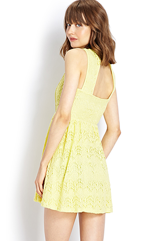 Retro Lace Dress | FOREVER21 - 2000063849